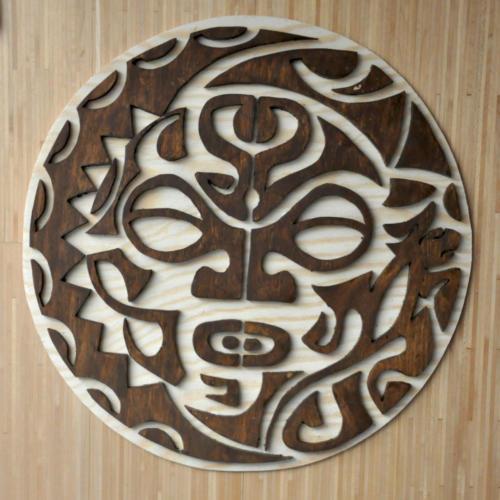 Maori Maske